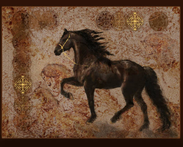 Photograph - The Emperor's Stallion by Melinda Hughes-Berland