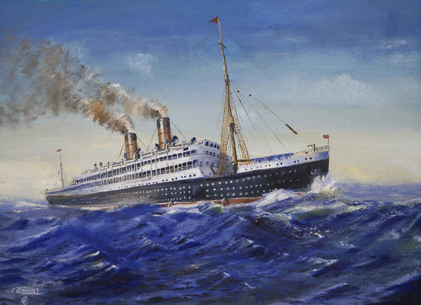 Wall Art - Painting - The Empress Of Ireland by Christopher Jenkins