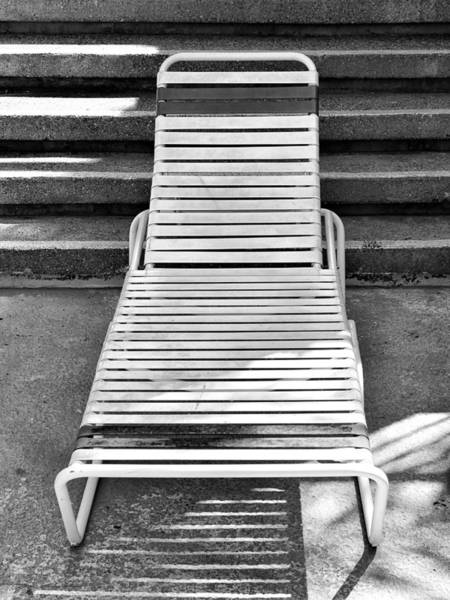 Wall Art - Photograph - The Empty Chaise Palm Springs by William Dey