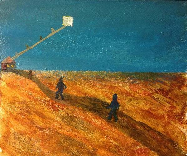 Gitana Wall Art - Painting - The End by Gitana Banks