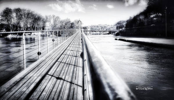 Photograph - The Endless Bridge by Stwayne Keubrick