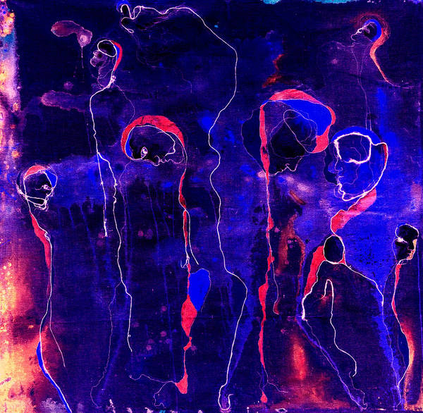 Painting - The Endless Dance Of Souls II by Giorgio Tuscani