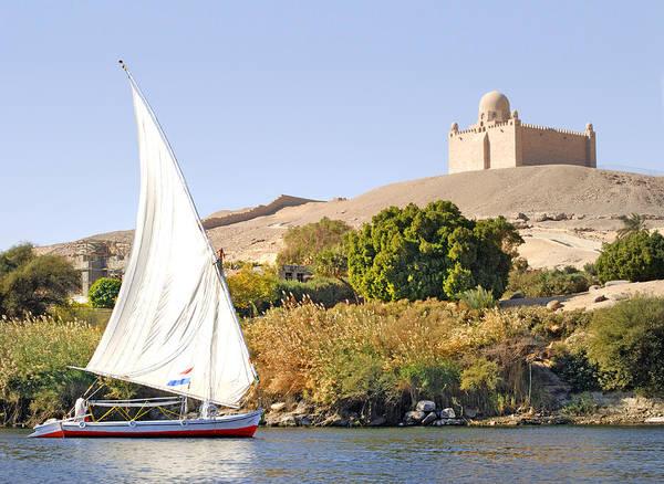 Photograph - The Eternal Nile Silently Flows by Brenda Kean