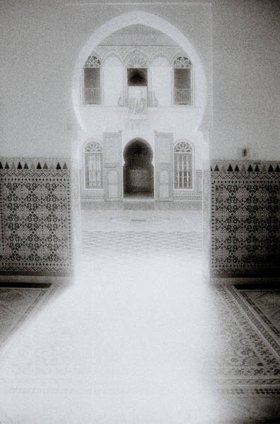 Asilah Wall Art - Photograph - The Ethereal Doorway by Shaun Higson