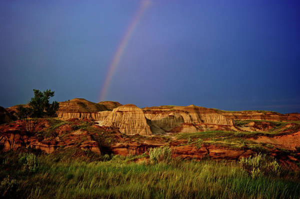Wall Art - Photograph - The Evening Light Shines On A Rainbow by Todd Korol