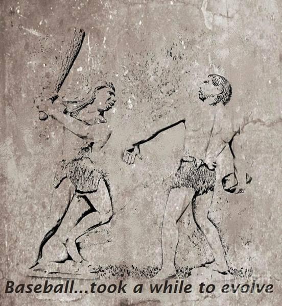 Halifax Nova Scotia Digital Art - The Evolution Of Baseball by John Malone