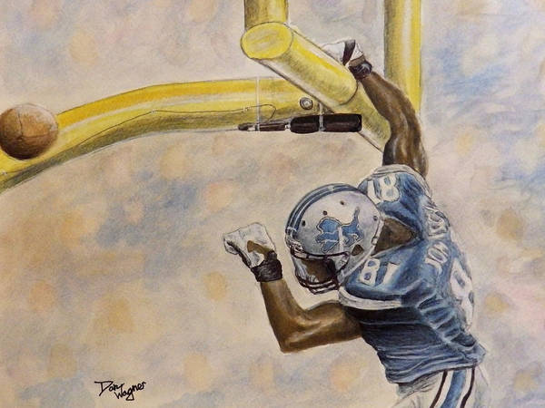 Painting - The Extra Point by Dan Wagner