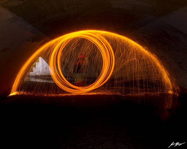Steel Wool Photograph - The Eye Is Always Watching by Jason Berry