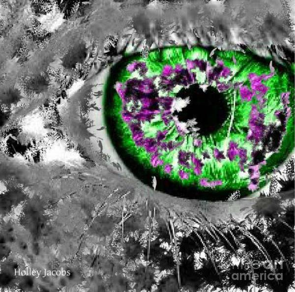 Nonprofit Digital Art - The Eyes 13 by Holley Jacobs