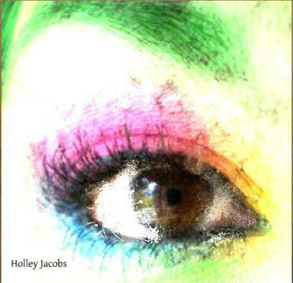 Nonprofit Digital Art - The Eyes 14 by Holley Jacobs