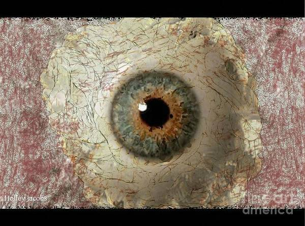 Nonprofit Digital Art - The Eyes 6 by Holley Jacobs