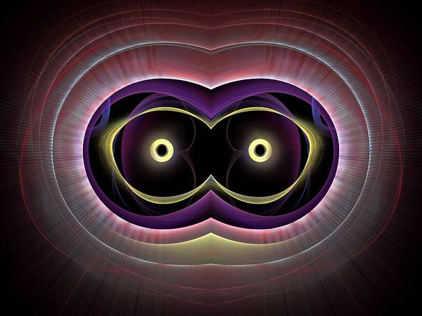 Dive Bar Digital Art - The-eyes-have-it-1bb by Bill Campitelle