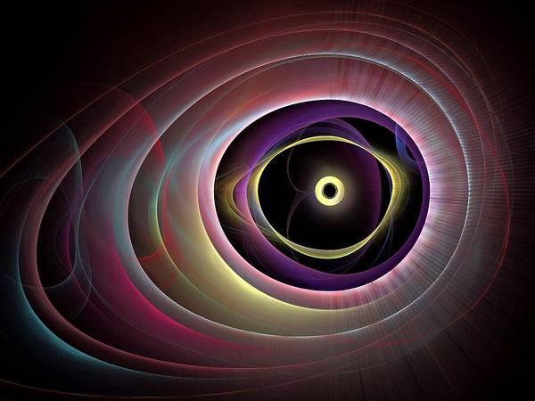 Dive Bar Digital Art - The-eyes-have-it-leftbb by Bill Campitelle