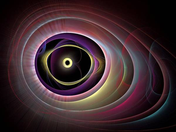 Dive Bar Digital Art - The-eyes-have-it-rightbb by Bill Campitelle