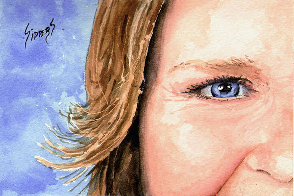 Painting - The Eyes Have It - Sherry by Sam Sidders