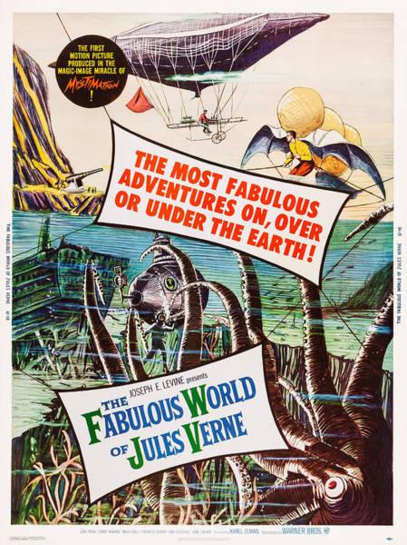 Czechoslovakian Photograph - The Fabulous World Of Jules Verne, Us by Everett