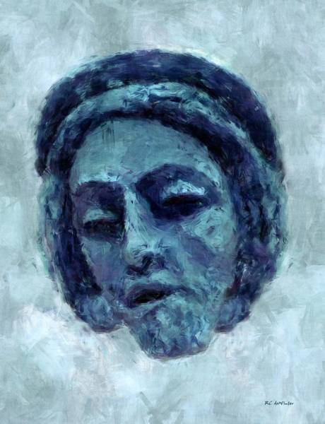 Painting - The Face Of Blue by RC DeWinter