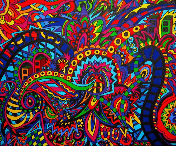 Wall Art - Painting - The Fair by Karen Elzinga