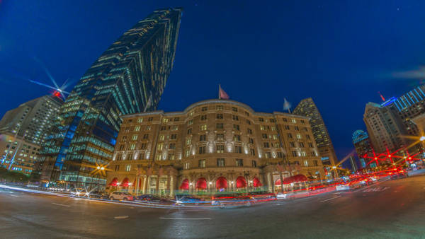 Photograph - The Fairmont Copley Hotel by Bryan Xavier
