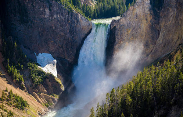 Yellowstone Canyon Photograph - The Falls by Kristopher Schoenleber