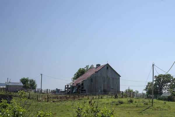 Photograph - The Family Barn by Edward Peterson
