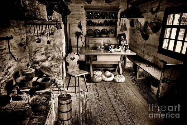 Kitchen Utensil Photograph - The Farmstead by Olivier Le Queinec