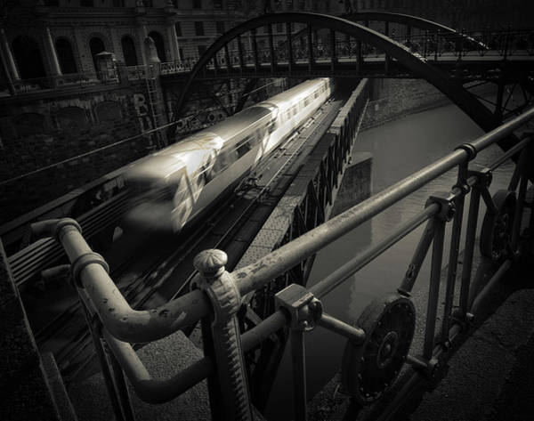 Railroads Photograph - The Fast Line by Dragan Jovancevic