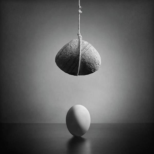 Egg Photograph - The Fate by Victoria Ivanova