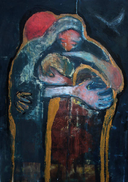 Parable Wall Art - Painting - The Fathers Forgiveness by Daniel Bonnell