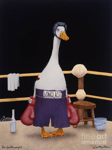 Boxing Painting - The Featherweight... by Will Bullas