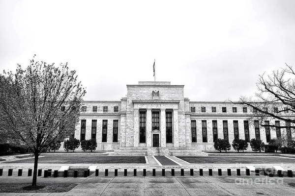 Dc Photograph - The Federal Reserve  by Olivier Le Queinec