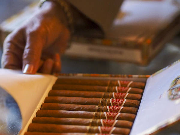 Photograph - Cuban Cigars - Only The Finest by Jo Ann Tomaselli
