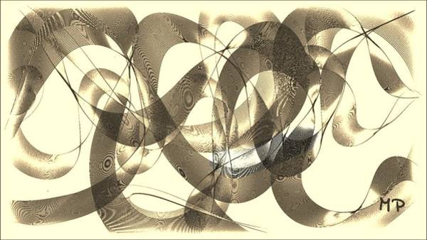 Mixed Media - The Fingerprint by Marian Palucci-Lonzetta