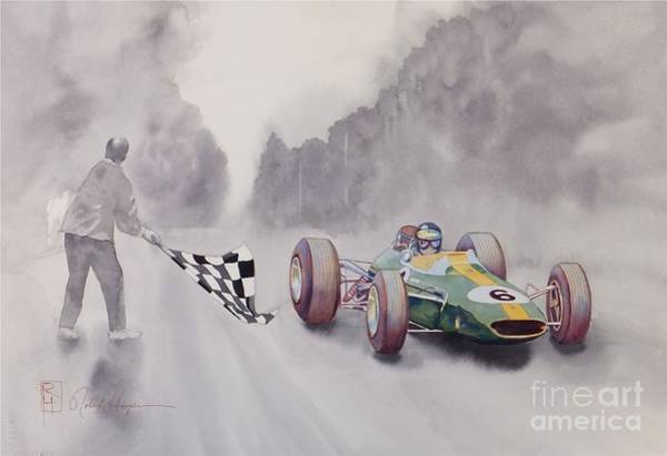 Wall Art - Painting - The Finish by Robert Hooper