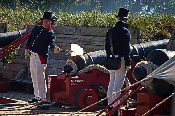 Photograph - The Firing Of Beason's Son by Bill Swartwout Photography