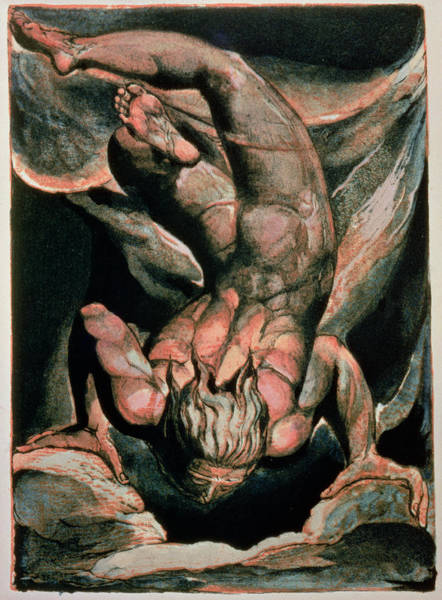 Prophet Painting - The First Book Of Urizen by William Blake
