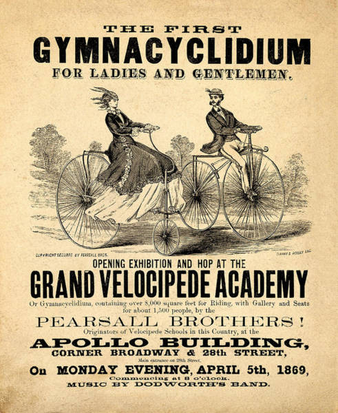Photograph - The First Gymnacyclidium by Bill Cannon