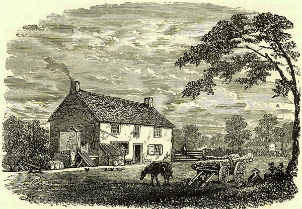 Near Photograph - The First House Of George Stephenson by Universal History Archive/uig