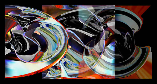 Digital Art - The First Movement - Digital Abstract by rd Erickson