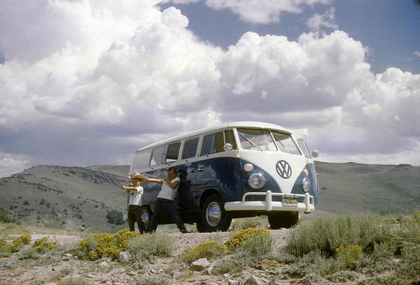 Photograph - The First Of Many Volkswagens  by David Bailey