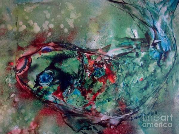 Painting - The Fish That Got Away by Deborah Nell