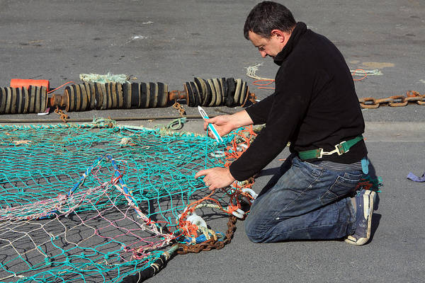 Photograph - The Fisherman by Aidan Moran