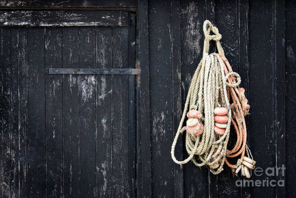 Fishing Nets Photograph - The Fisherman's House by Delphimages Photo Creations