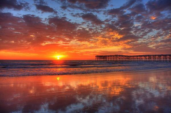 Photograph - The Flame Of Pacific Beach by Nathan Rupert
