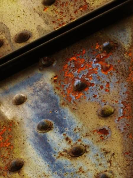 Photograph - The Flames Of Rust 31 by Charles Lucas