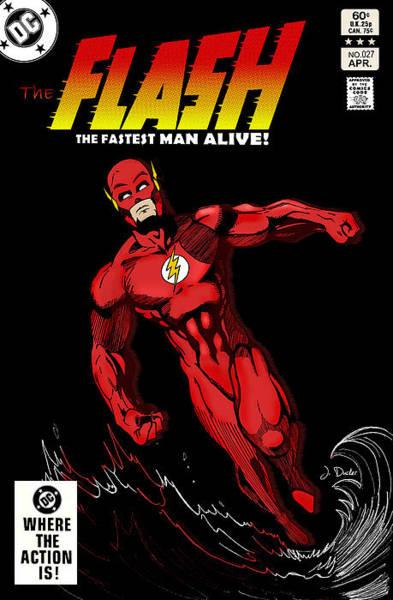 Flash Wall Art - Photograph - The Flash by Mark Rogan