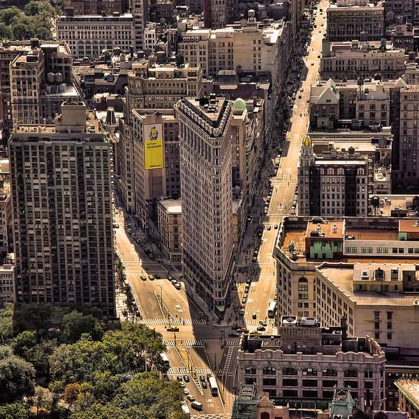 Blade Runner Photograph - The Flatiron by New York