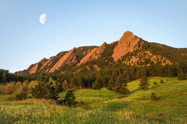 Wall Art - Photograph - The Flatirons - Spring by Aaron Spong