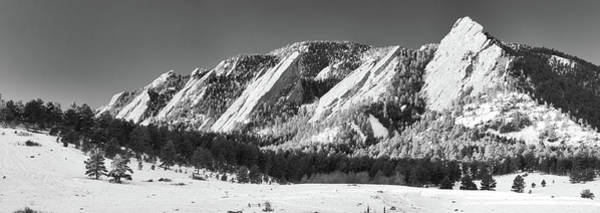 Photograph - The Flatirons by Guy Whiteley