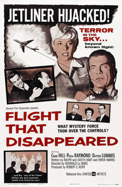 Hijack Wall Art - Photograph - The Flight That Disappeared, Us Poster by Everett